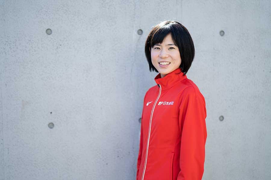 鈴木はジュニア世代へ「自分の気持ちに素直になって、頑張ってほしい」とエールを送った【写真:荒川祐史】