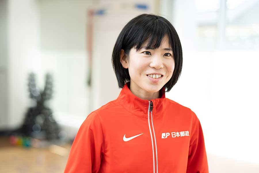東京オリンピックの女子マラソン日本代表に内定している鈴木亜由子【写真:荒川祐史】