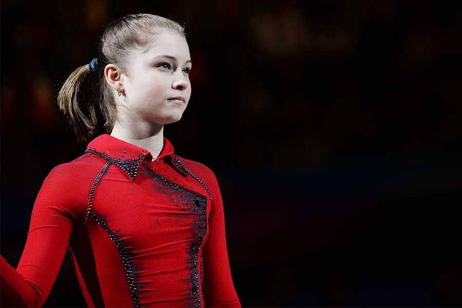 現役時代のユリア・リプニツカヤさん【写真:Getty Images】