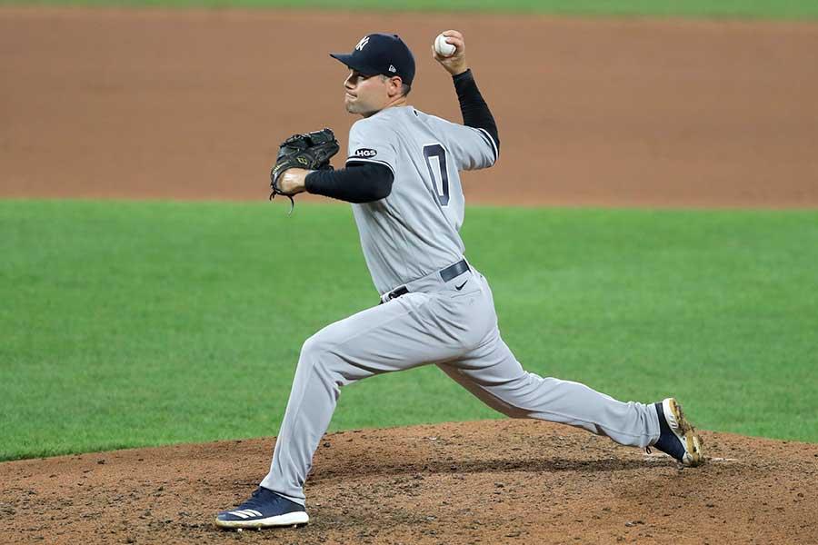 ヤンキースのアダム・オッタビーノ【写真:AP】