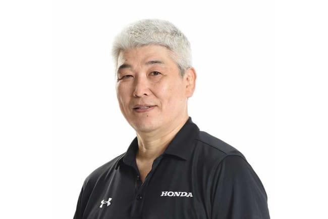 父・東春さん【写真提供:Honda HEAT】