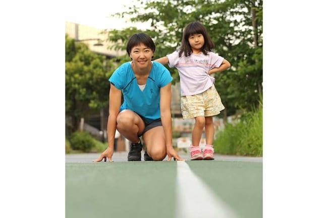 「また日本記録を出して娘とタイマーの前で記念撮影したい」が今後の夢【写真:本人提供】