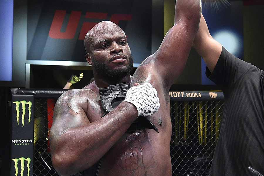 UFCヘビー級マッチで圧勝したデリック・ルイス【写真:Getty Images】