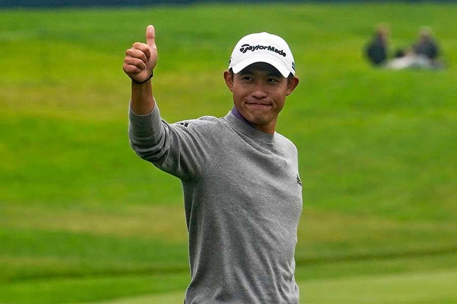 全米プロゴルフ選手権で優勝したコリン・モリカワ【写真:AP】