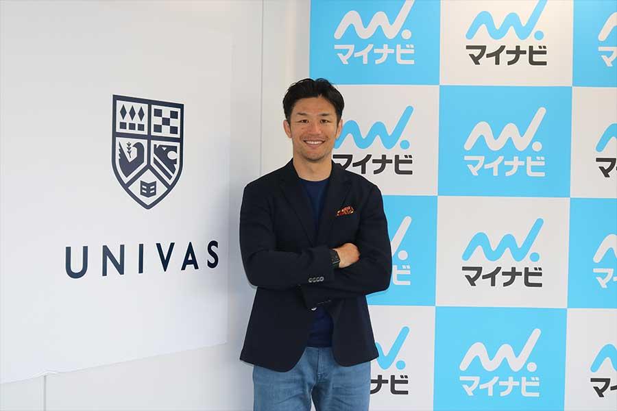 日本代表主将の廣瀬俊朗さんがコロナ禍の学生へ贈ったメッセージとは【写真:編集部】