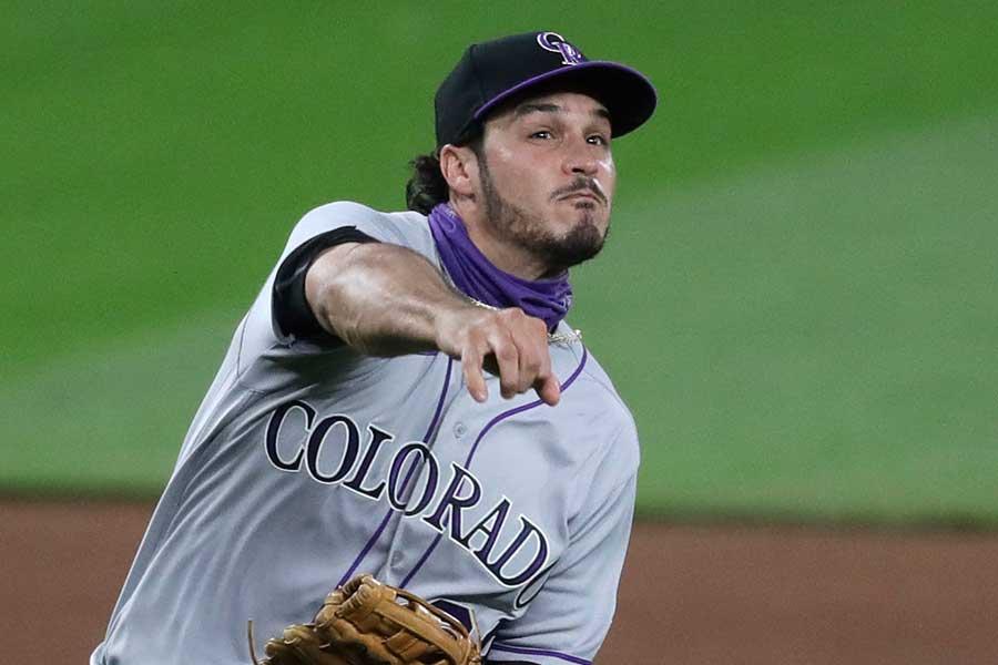 MLB最高の三塁手と名高いアレナド【写真:AP】