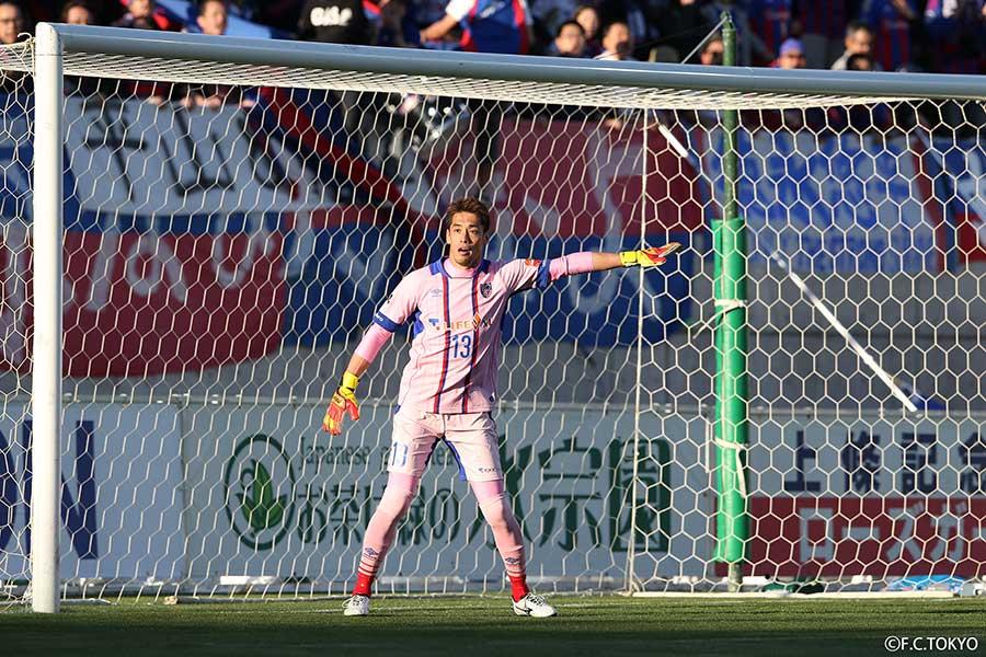 元Jリーガーの榎本達也さんはブラインドサッカーに挑戦した【写真:(C)FC東京】