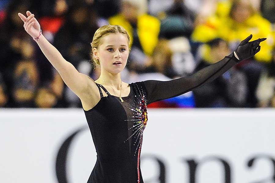 セラフィマ・サハノヴィッチ【写真:Getty Images】