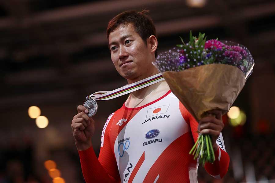 今年2月の世界選手権で銀メダルを獲得した脇本雄太【写真:Getty Images】