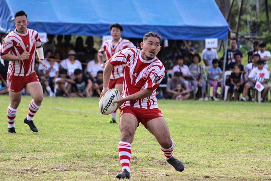 ラグビーリーグ日本代表・狩野堅太さん【写真:本人提供】