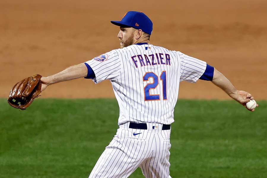 9回に登板したメッツのトッド・フレージャー【写真:AP】