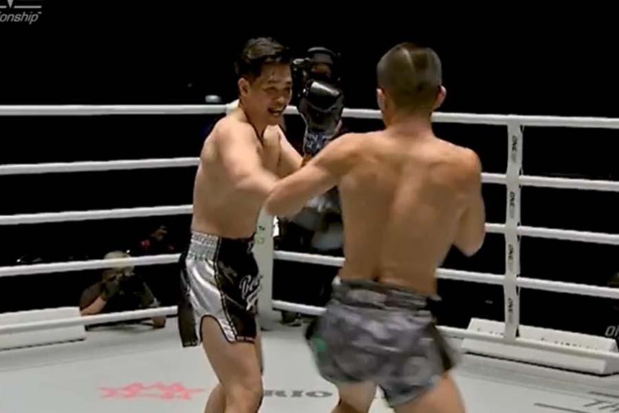 タイ・バンコクで生まれた瞬殺6秒KOが反響を呼んでいる(画像はONEチャンピオンシップ公式インスタグラムより)
