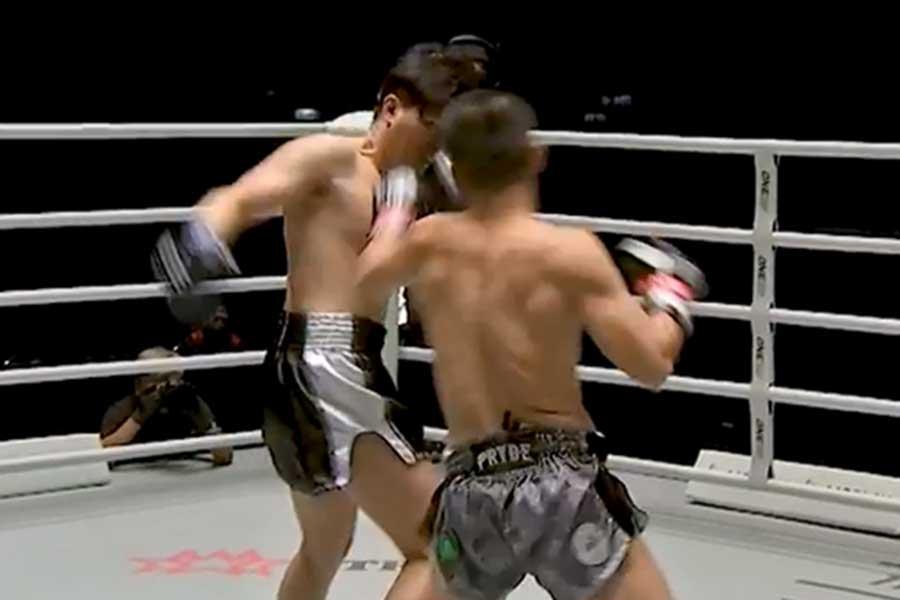 タイ・バンコクで瞬殺の6秒KOが生まれた(画像はONEチャンピオンシップ公式インスタグラムより)