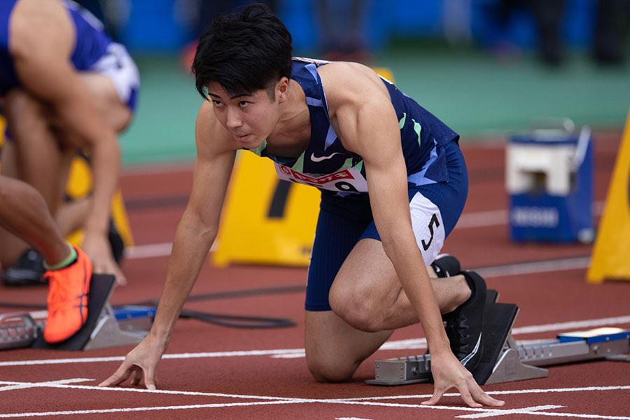 全体トップの10秒23で決勝進出を決めた多田修平【写真:奥井隆史】