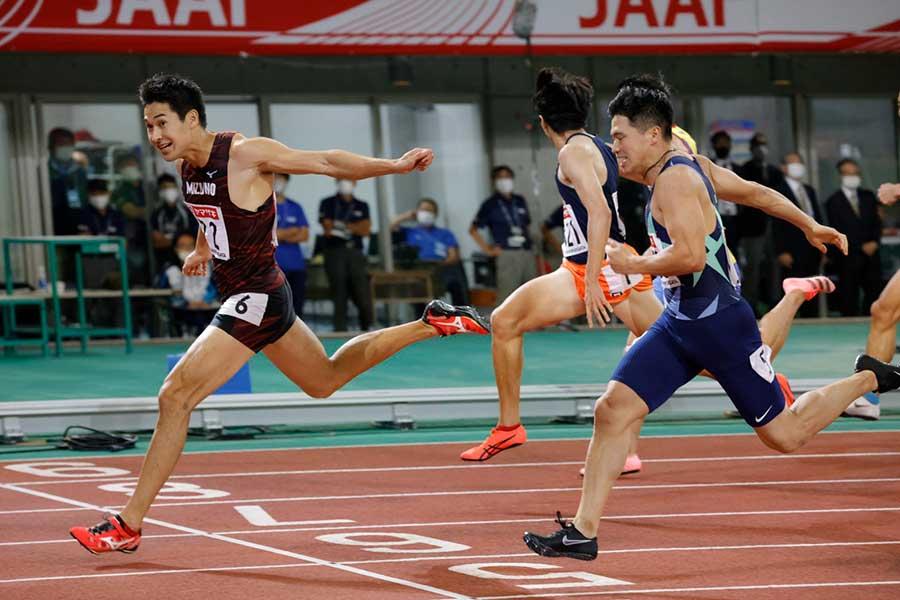 飯塚翔太が優勝。小池祐貴は2位だった【写真:奥井隆史】