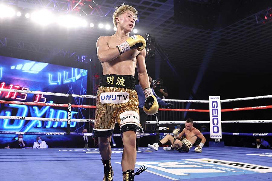 7回KO勝ちを収めた井上尚弥【写真:Getty Images】