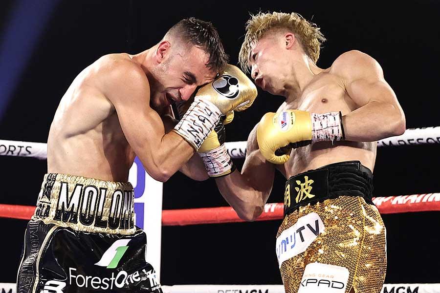 ジェイソン・マロニーを7回KOで破った井上尚弥【写真:Getty Images】