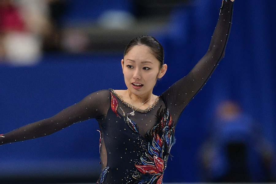 現役時代の安藤美姫さん【写真:Getty Images】