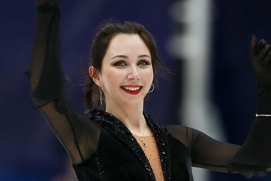 優勝したエリザベータ・トゥクタミシェワ、衣装デザインにも注目が集まった【写真:Getty Images】