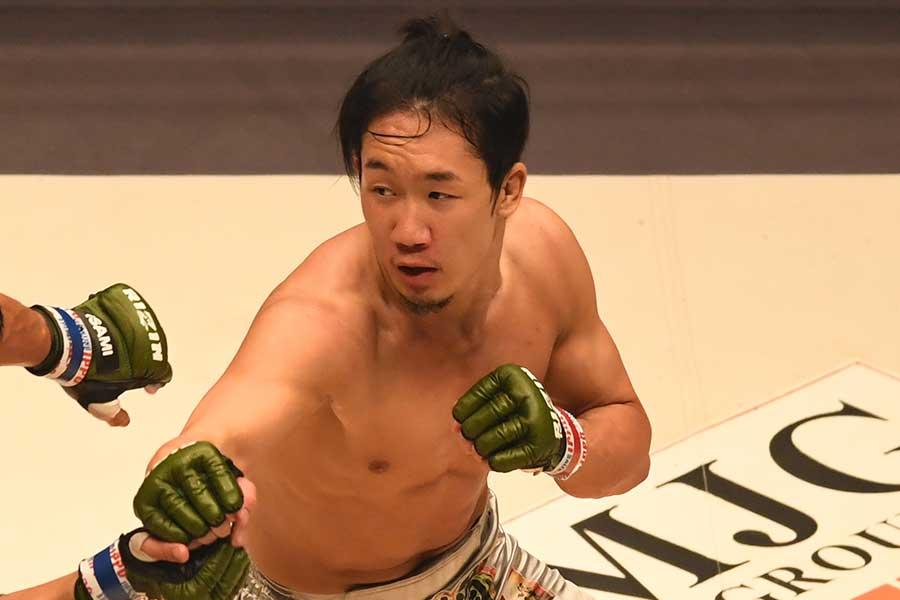 朝倉未来(写真は19年12月のもの)【写真:Getty Images】