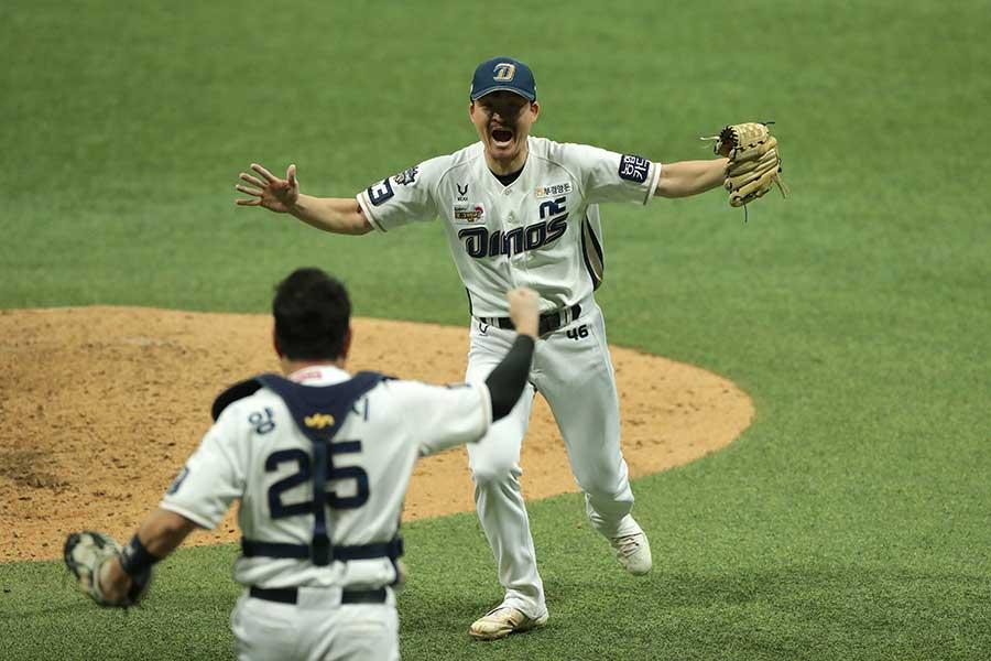 初の韓国シリーズ制覇を果たしたNC【写真:Getty Images】
