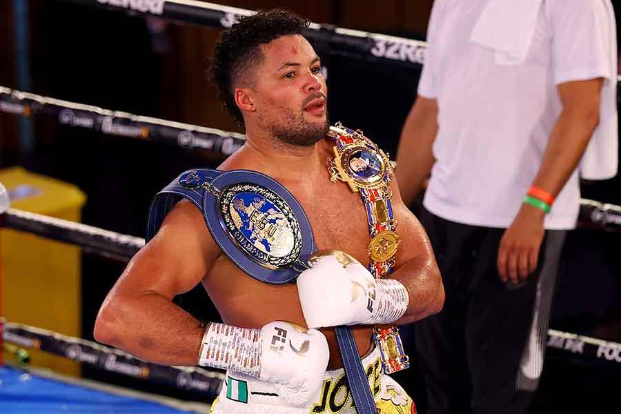 10回KO勝ちのジョセフ・ジョイス【写真:Getty Images】