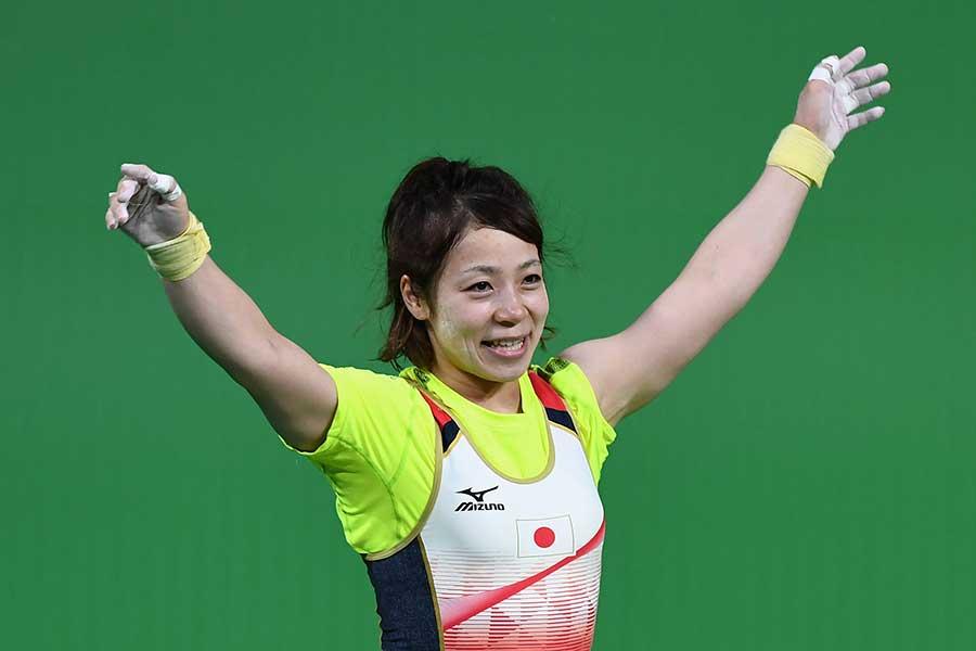 三宅宏実がスポーツ指導における「親子の在り方」について語った【写真:Getty Images】