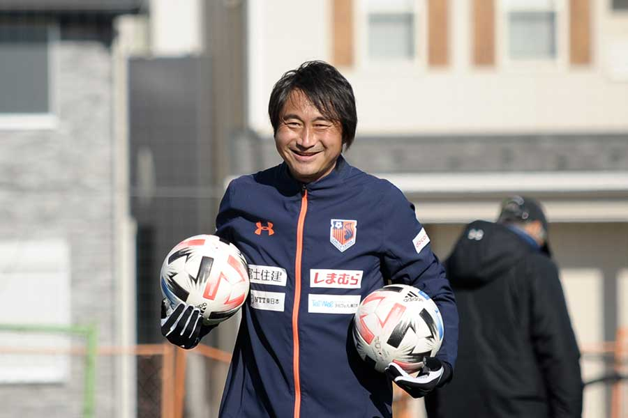 現在は大宮アルディージャのトップチームコーチを務める北嶋秀朗【写真提供:大宮アルディージャ】