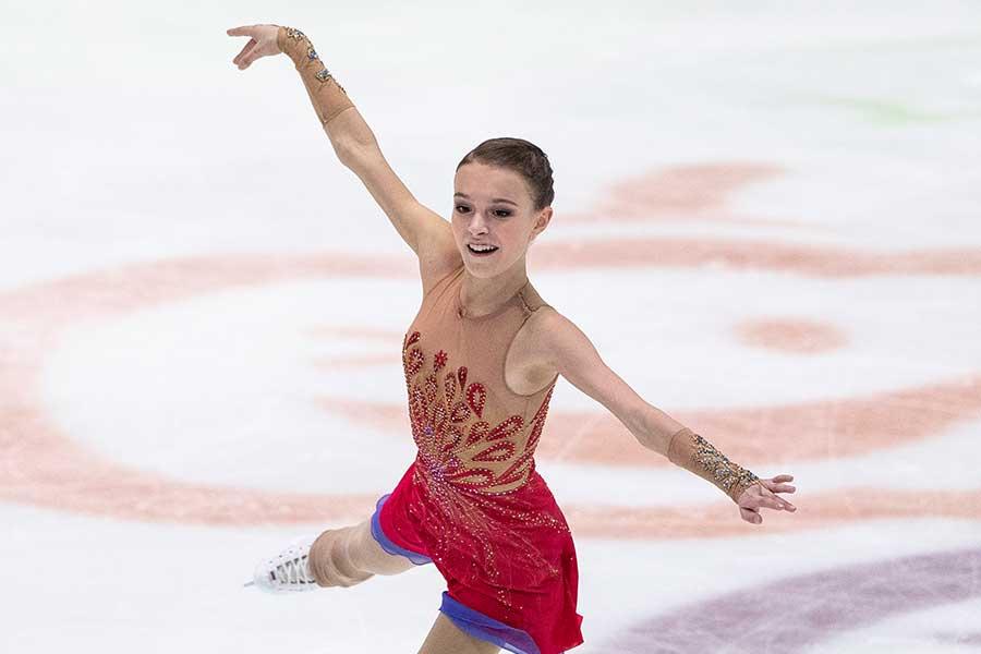 アンナ・シェルバコワ(写真は1月のもの)【写真:Getty Images】