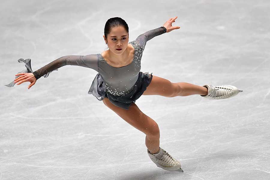宮原知子(写真は昨年の全日本選手権のもの)【写真:Getty Images】