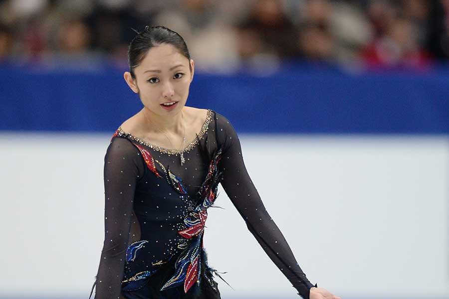 安藤美姫【写真:Getty Images】