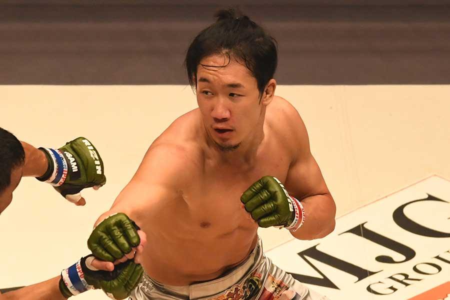 朝倉未来(撮影は2017年)【写真:Getty Images】