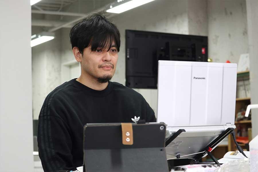 渡邉拓馬氏は東京から熱心に選手たちを遠隔指導をした【写真:編集部】