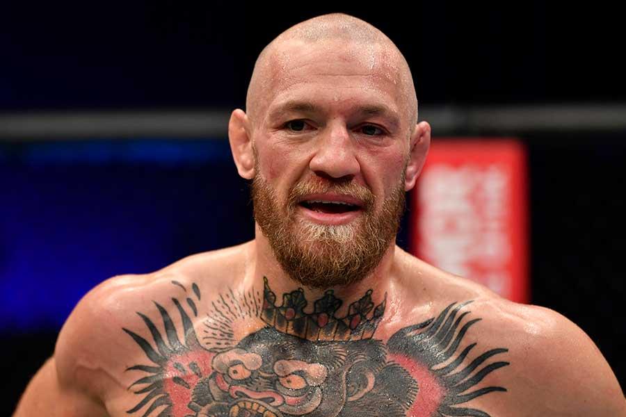 2回TKO負けしたコナー・マクレガー【写真:Getty Images】