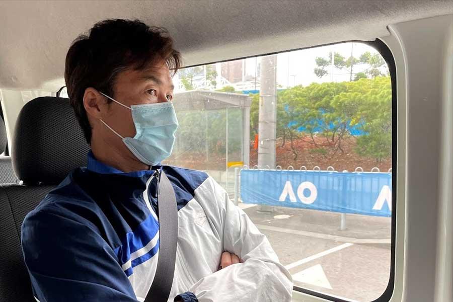 「ATPカップ2021」に出場する松井俊英【写真提供:松井俊英】