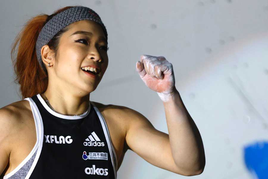 「今までやってきたトレーニングは間違いないと実感できた」と語った野中生萌