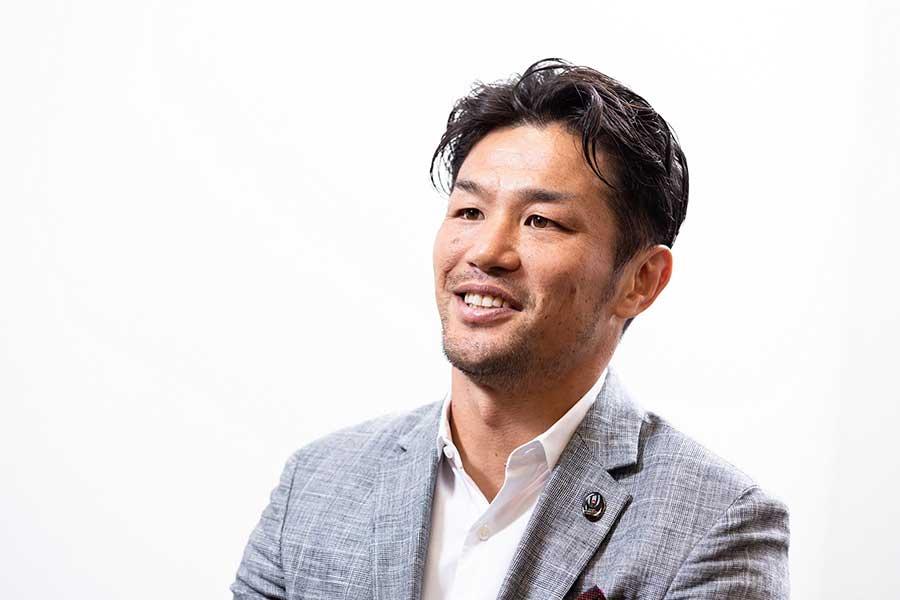 元ラグビー日本代表の廣瀬俊朗さん【写真:松橋晶子】