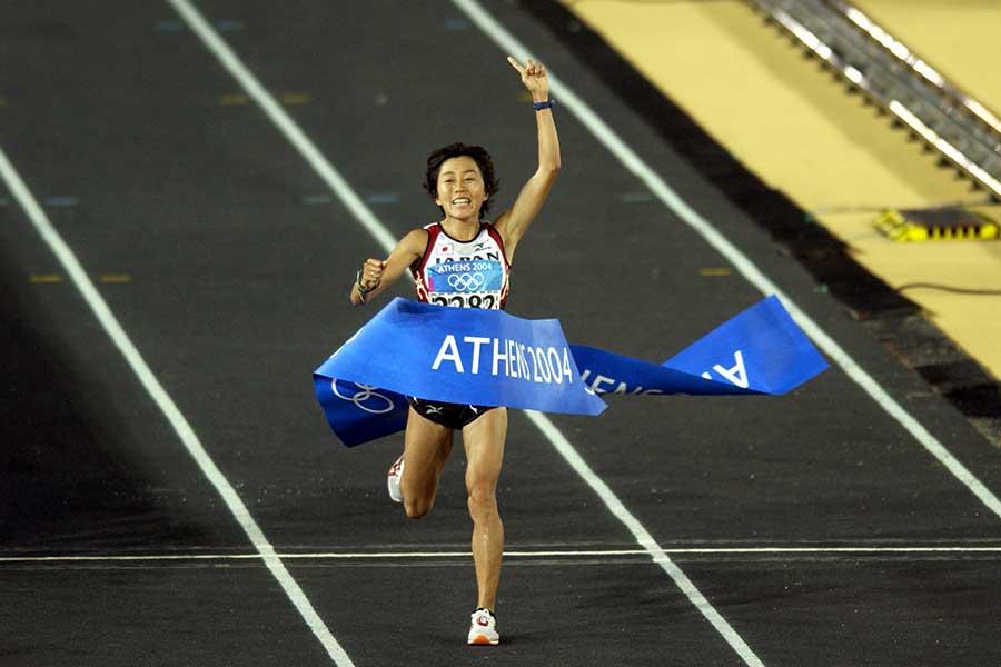 2004年アテネ五輪女子マラソン金メダリストの野口みずきさん【写真:Getty Images】