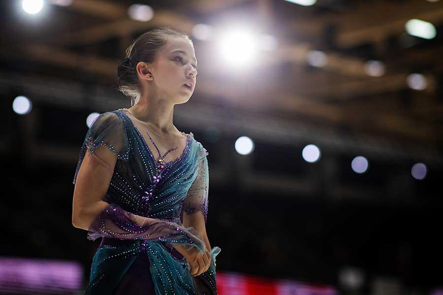 カミラ・ワリエワ【写真:Getty Images】