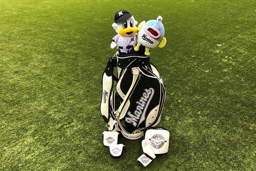 ロッテはゴルフギアの予約販売を開始する【写真:球団提供】