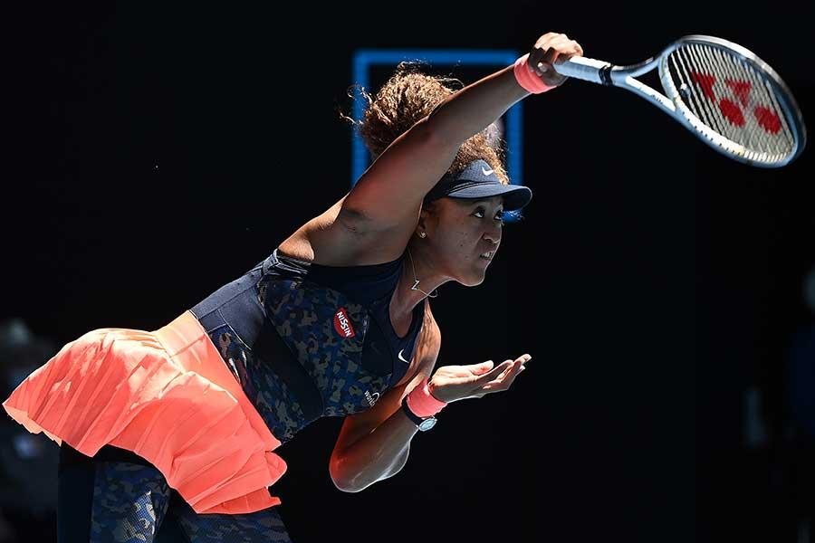 セリーナ・ウィリアムズを破り、決勝進出を決めた大坂なおみ【写真:Getty Images】
