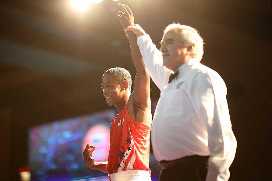 アマ時代には東京五輪の金メダル候補と目されたケイショーン・デービス【写真:Getty Images】