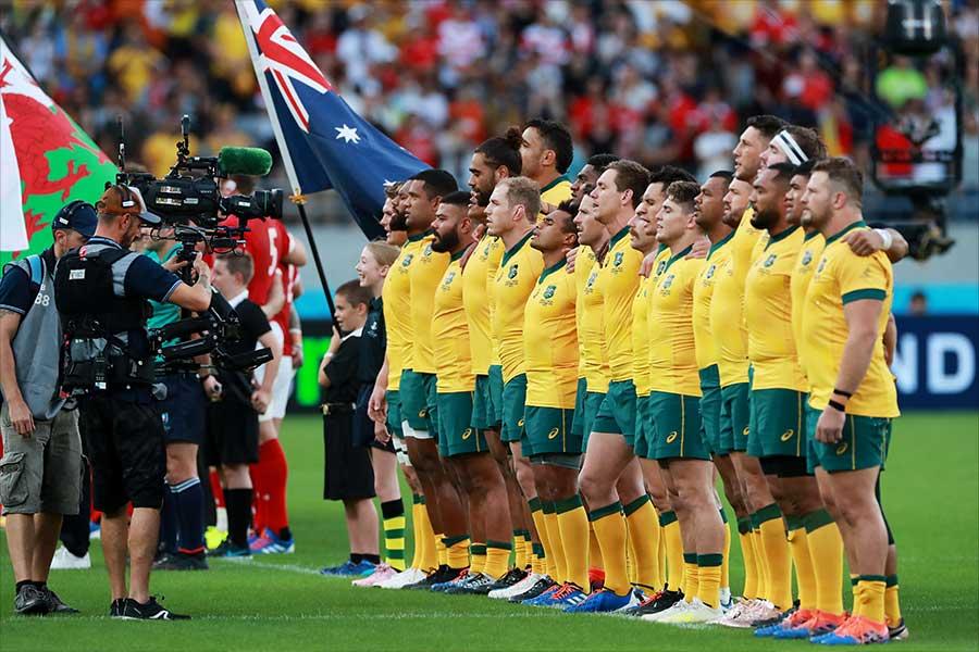 日本で行われた2019年ラグビーW杯ではベスト8入りしたオーストラリア代表【写真:Getty Images】