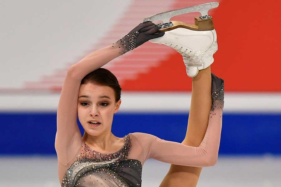アンナ・シェルバコワ【写真:AP】