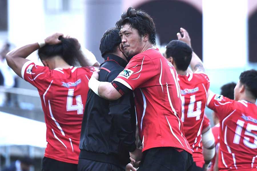 現役引退を報告した日野の北川俊澄【写真:中戸川知世】
