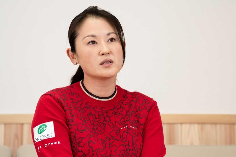 北田瑠衣が語った韓国勢の強さの理由とは【写真:荒川祐史】