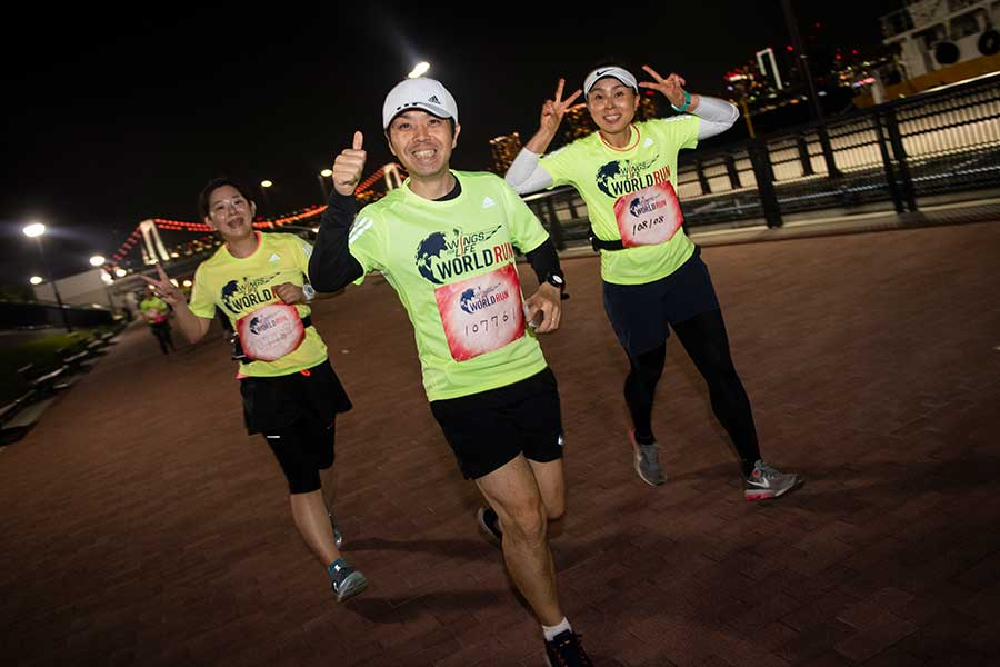 「Wings for Life World Run」が、5月9日に開催される【写真:Jason Halayko for Wings for Life World Run】