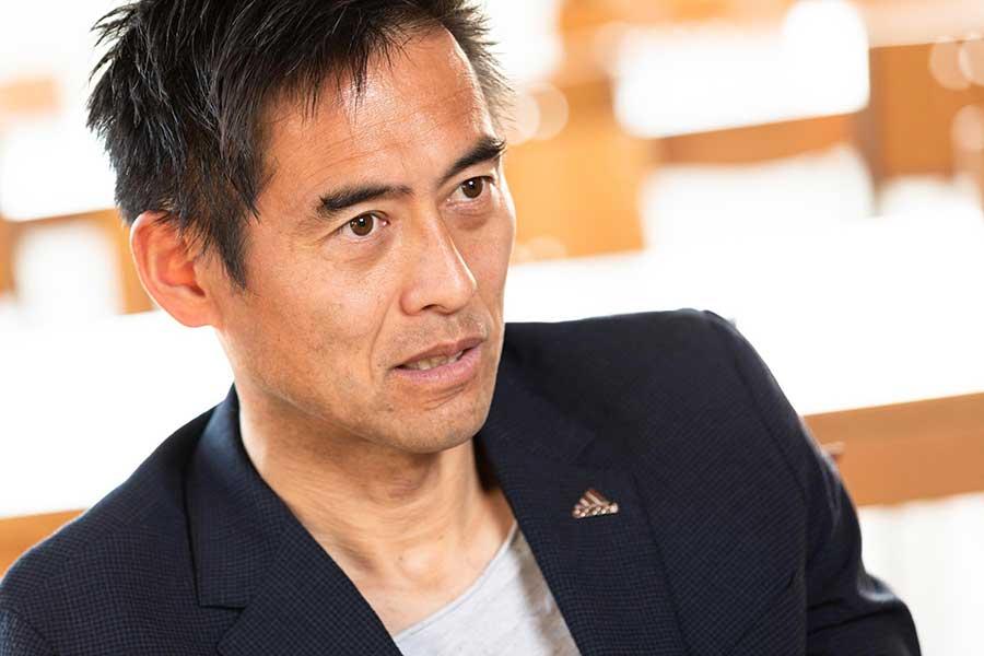 川口能活さんが食にまつわる秘蔵エピソードを明かした【写真:松橋晶子】