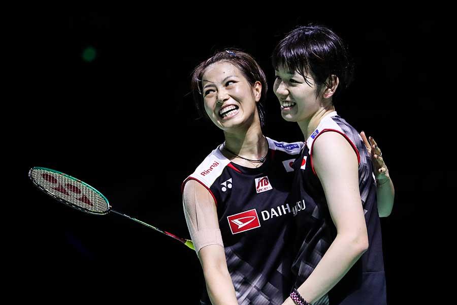 福島(左)と廣田、パートナーに掛けられた「忘れられない言葉」とは【写真:Getty Images】