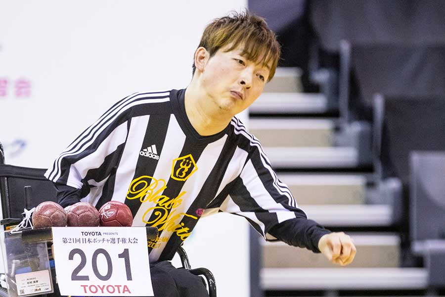杉村英孝選手のボールに対するこだわりとは【写真:(C)Tomokazu Matsukawa】